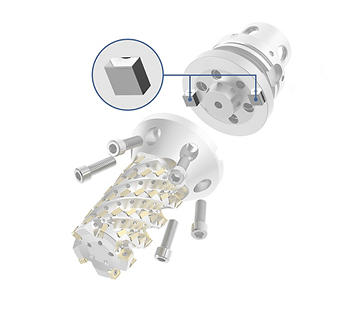 Kegelflanschwerkzeug und HARVI Ultra 8X – Anzugsmomentübertragung