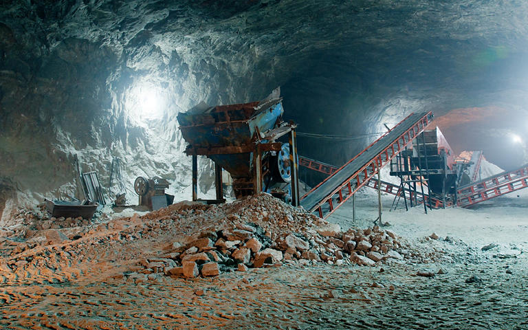 Bezpečnost při hlubinné těžbě