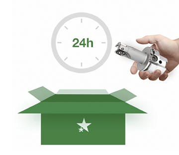 Receive your tool withing 24 hours