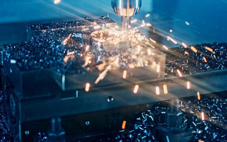 Bearbeitung von Stahl