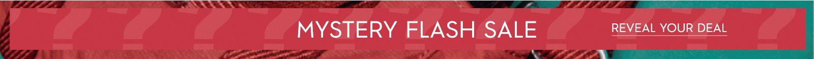 Mystery flash sale