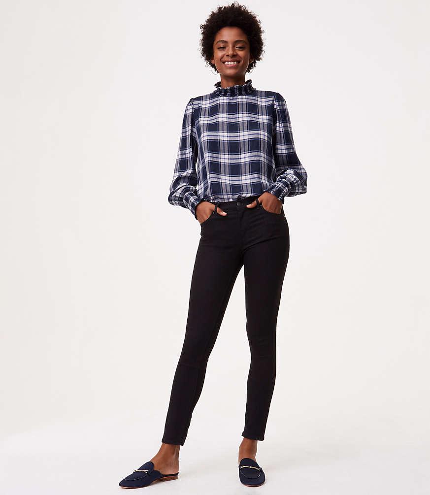 Petite Modern Skinny Jeans in Black