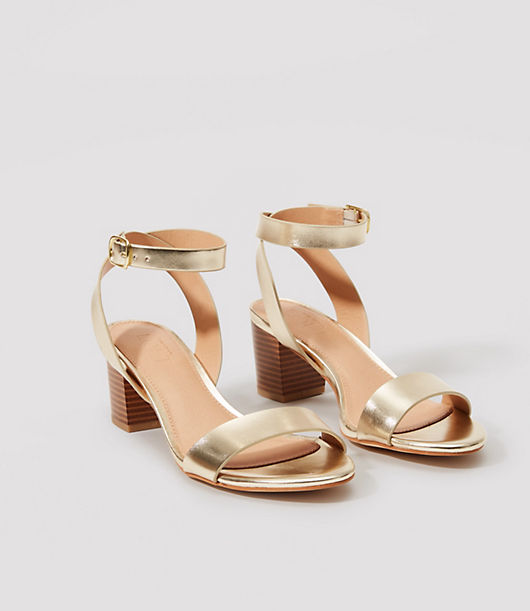 LOFT Block Heel Sandals