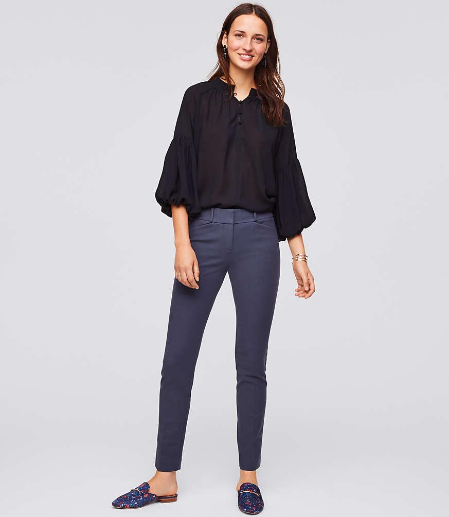 Petite Skinny Bi-Stretch Ankle Pants in Marisa Fit