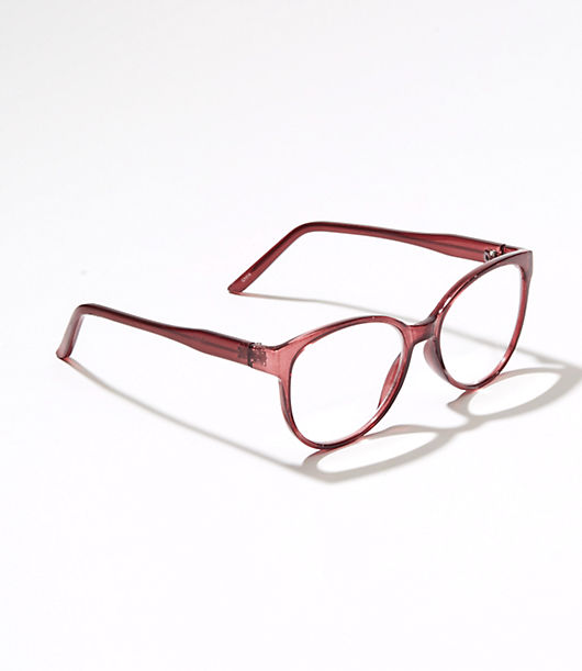 LOFT Iridescent Cateye Reading Glasses