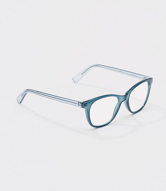 LOFT Iridescent Square Reading Glasses