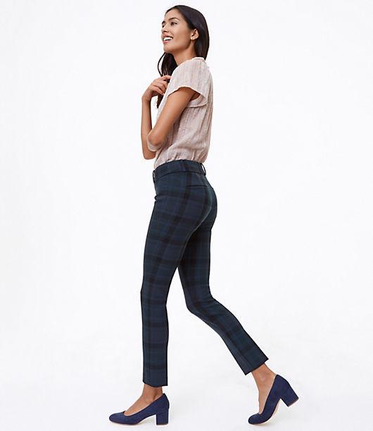 LOFT Skinny Plaid Pants in Marisa Fit