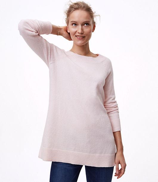 LOFT Boatneck Tunic Sweater
