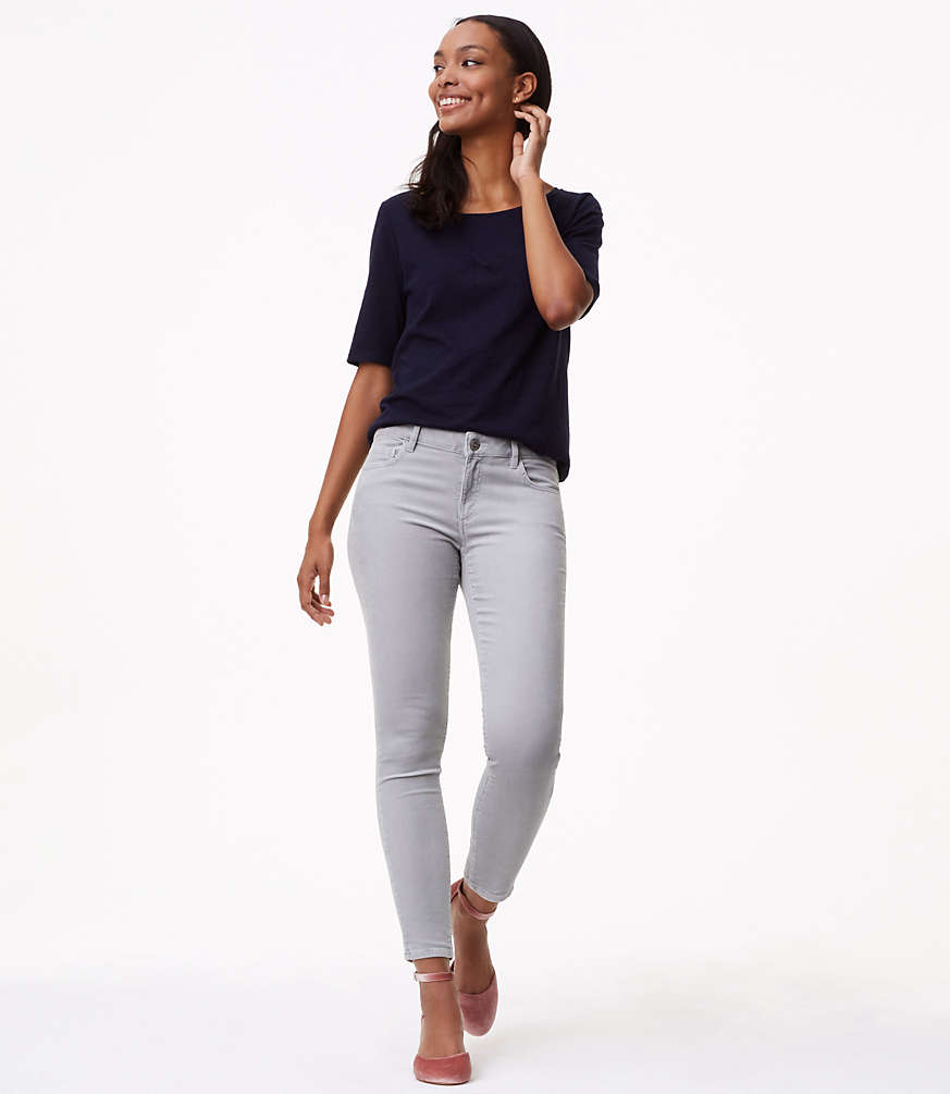 tall skinny brushed corduroy pants in curvy | loft