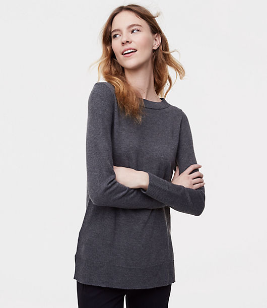 LOFT Modern Tunic Sweater