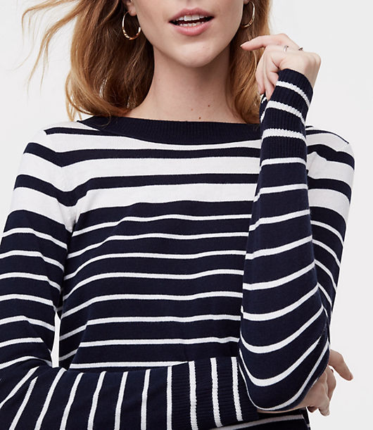 LOFT Gradual Stripe Sweater