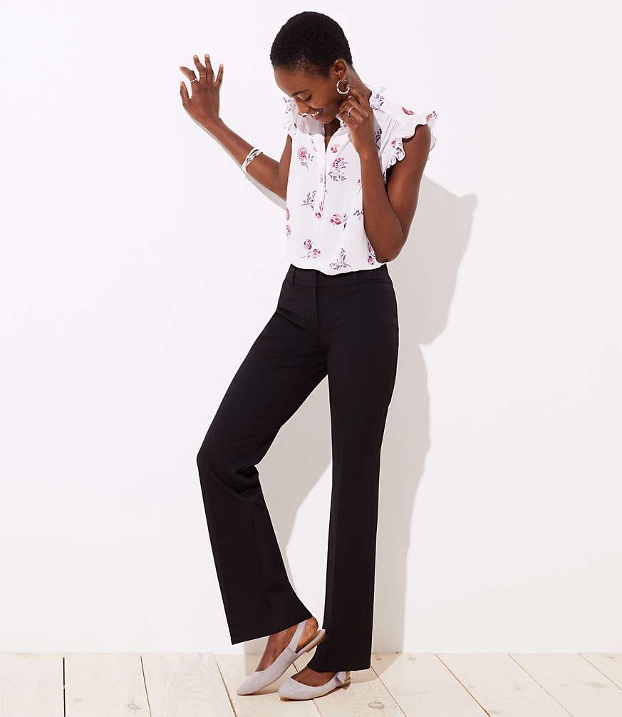 Petite Trousers in Custom Stretch in Modern