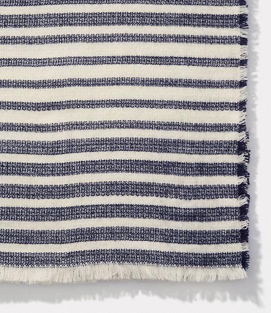 LOFT Striped Blanket Scarf