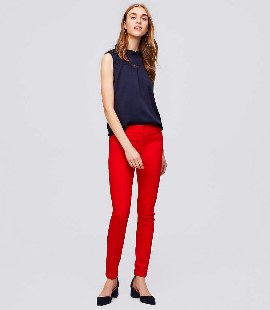 Petite Skinny Cuffed Pants in Marisa Fit