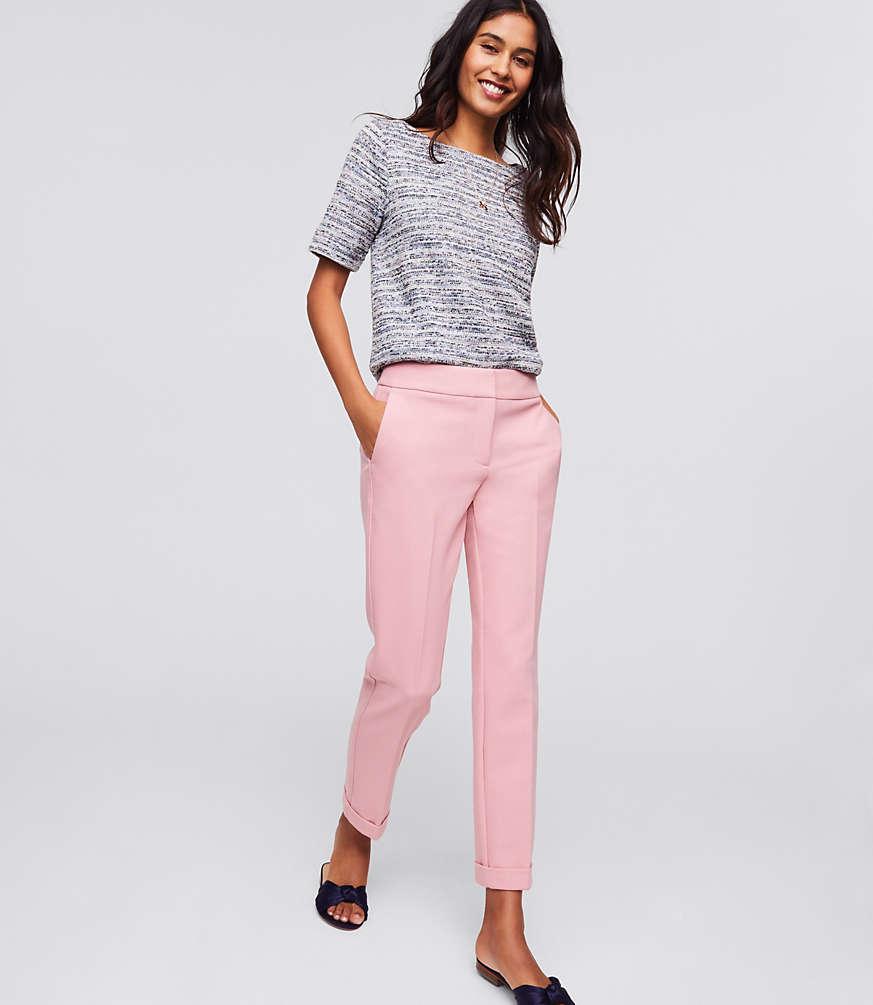 Petite Slim Cuffed Pants in Marisa Fit