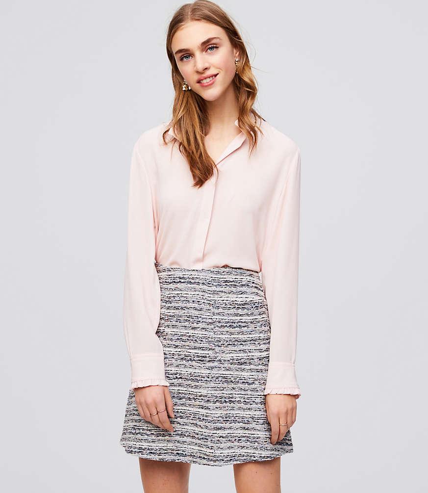 Petite Boucle Pocket Skirt