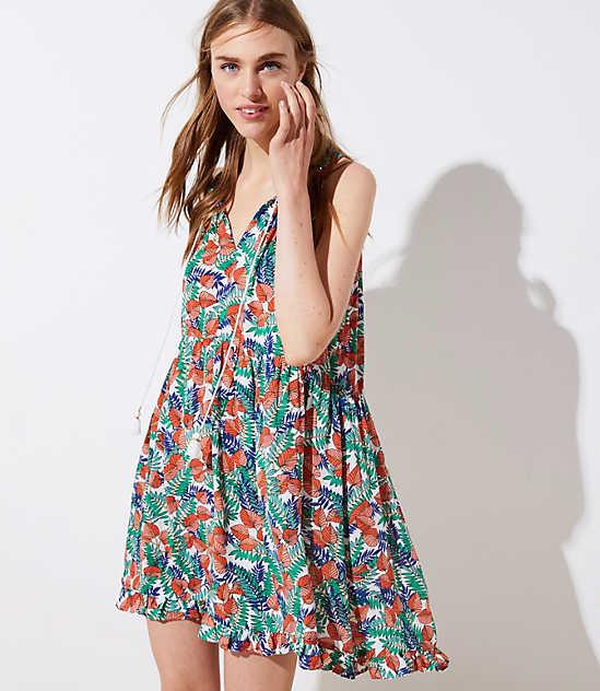 113ce29e6f Blue & White Beach Dresses, Rompers & Swim Cover Ups for Women | LOFT