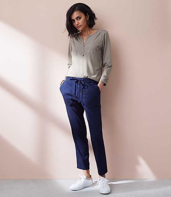 aac6f17068 Lou   Grey Garment Dye Softstretch Linen Pants
