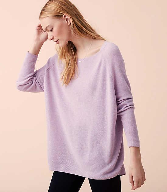 Lou & Grey Dolman Sweater Tunic