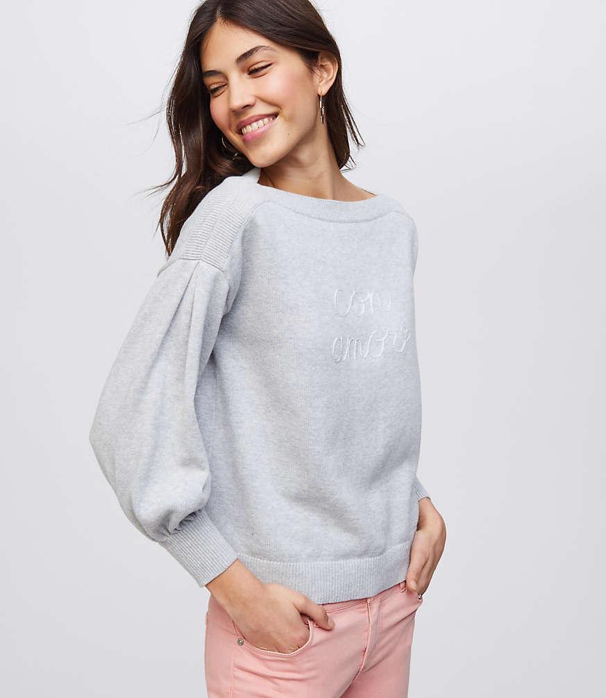 Petite Con Amor Sweater