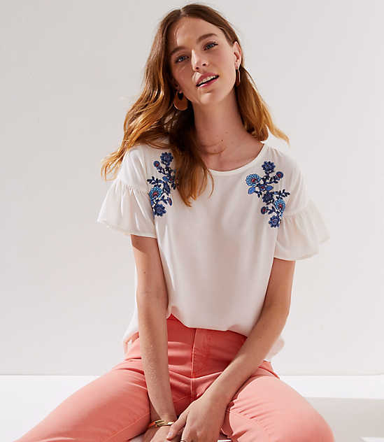 Petite Tops For Women Loft