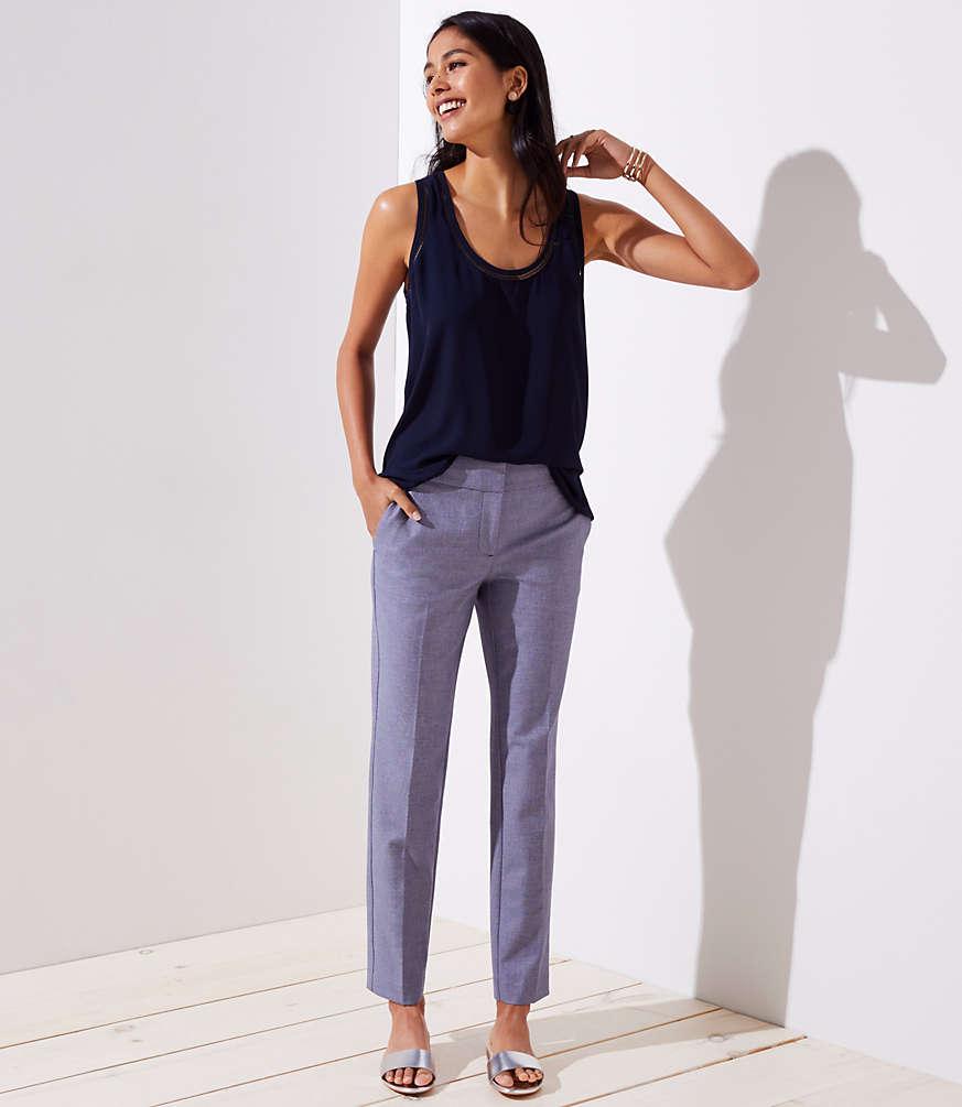 Petite Slim Custom Stretch Pencil Pants in Marisa Fit
