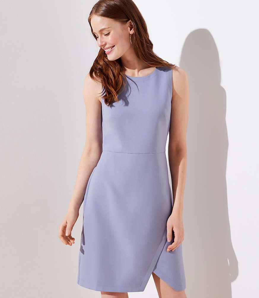 Petite Wrap Skirt Dress