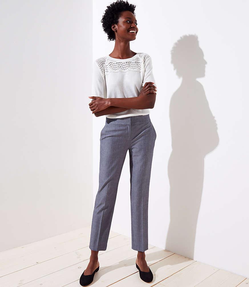 Petite Slim Ankle Pants in Marisa Fit