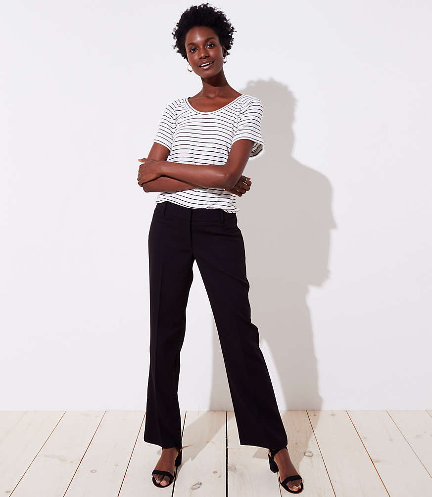 Petite Trousers in Twill in Marisa Fit