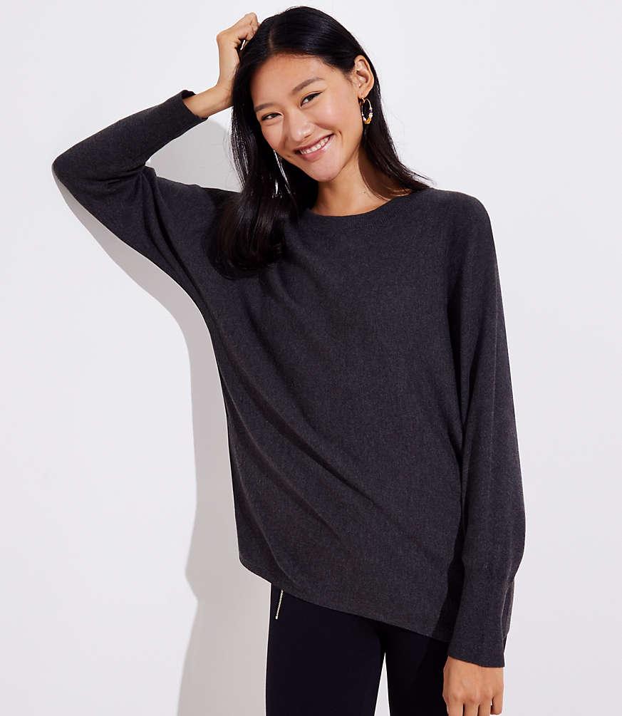 Petite Dolman Sweater