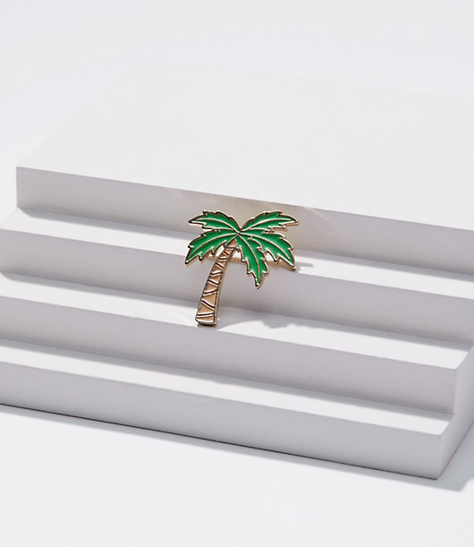 LOFT Palm Tree Enamel Pin