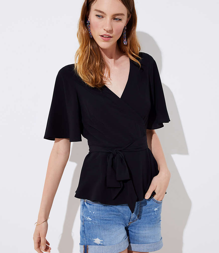 Wrap Top by Loft