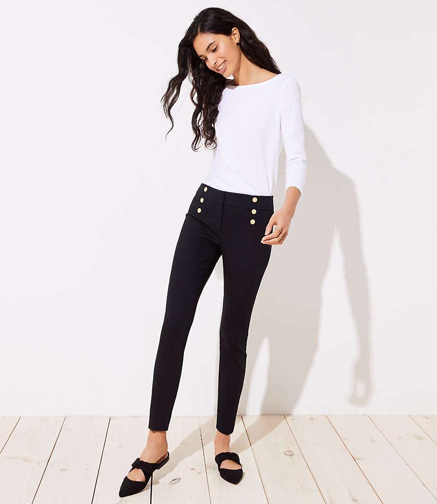 Petite Skinny Sailor Pants in Marisa Fit