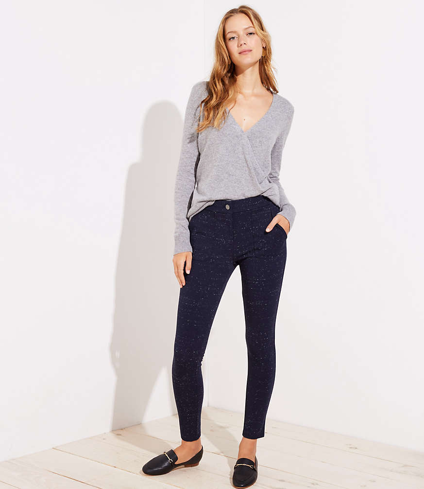 Petite Leggings in Speckled Patch Pocket
