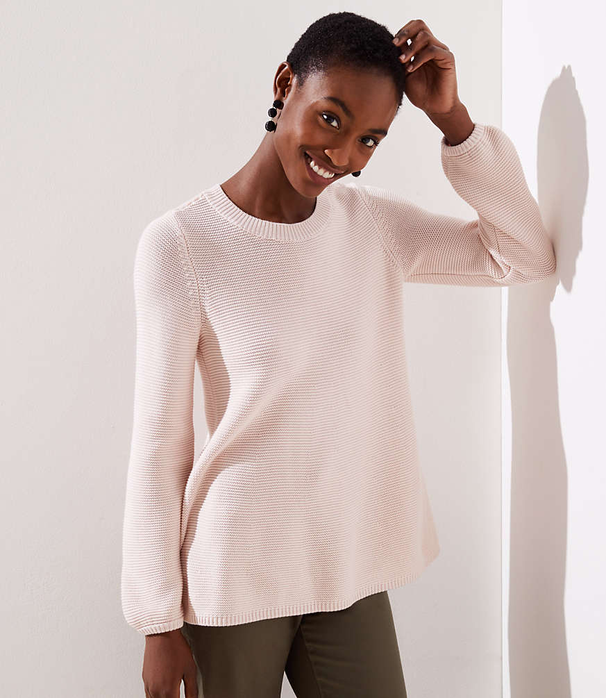 Petite Swingy Sweater
