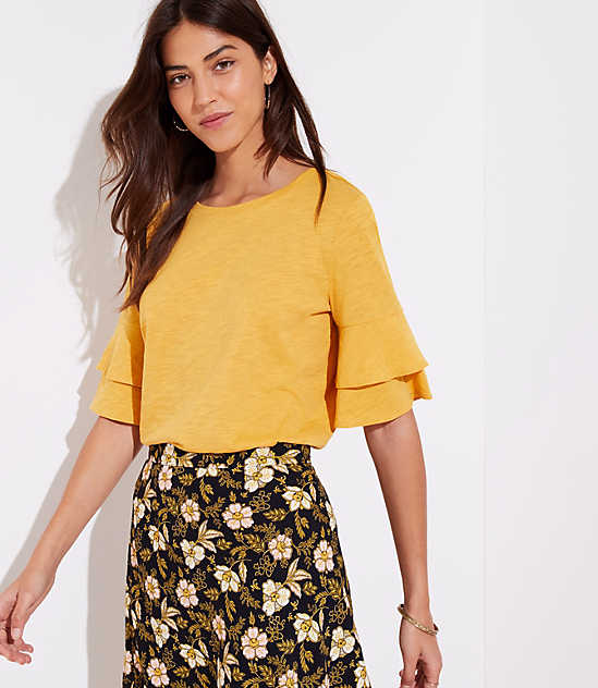 Yellow Bell Sleeve