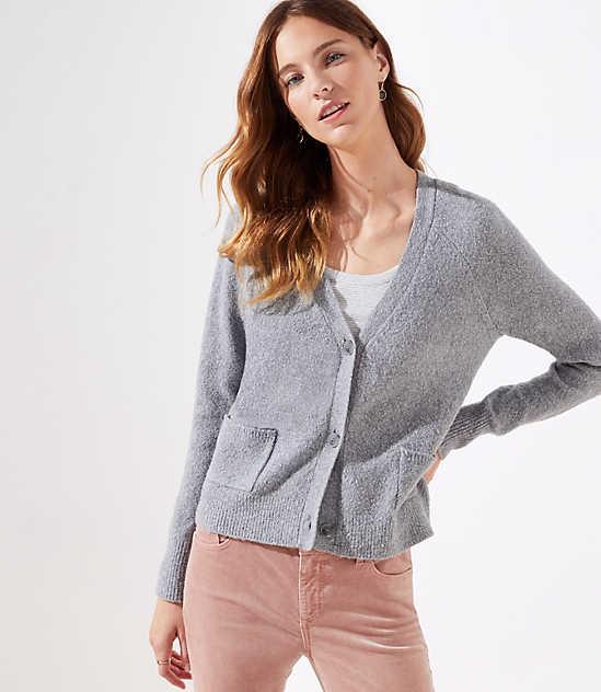 V Neck Petite Cardigans   Sweater Jackets  4d101e025