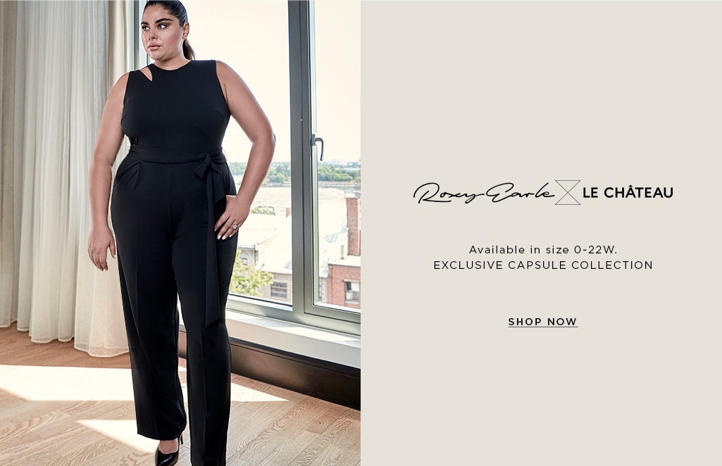 Shop the Roxy Earle x LE CHÂTEAU Collection