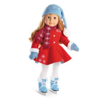 Maryellen S Ice Skating Outfit Amp Accessories American Girl