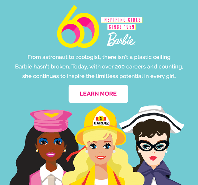 Barbie 60th Anniversary