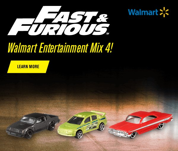Walmart Entertainment Mix 4: Fast & Furious!
