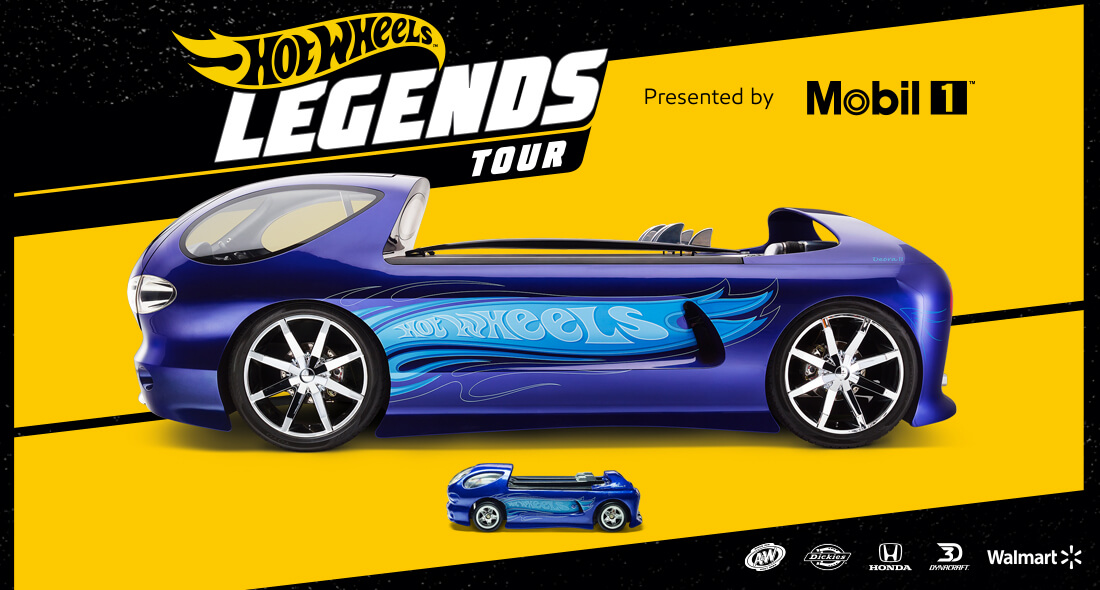 Hot Wheels - Legends Tour