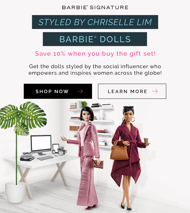 Barbie Signature - Styled By Chriselle