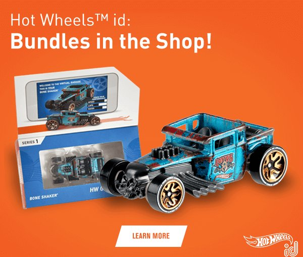 Hot Wheels id Bundles in the Shop