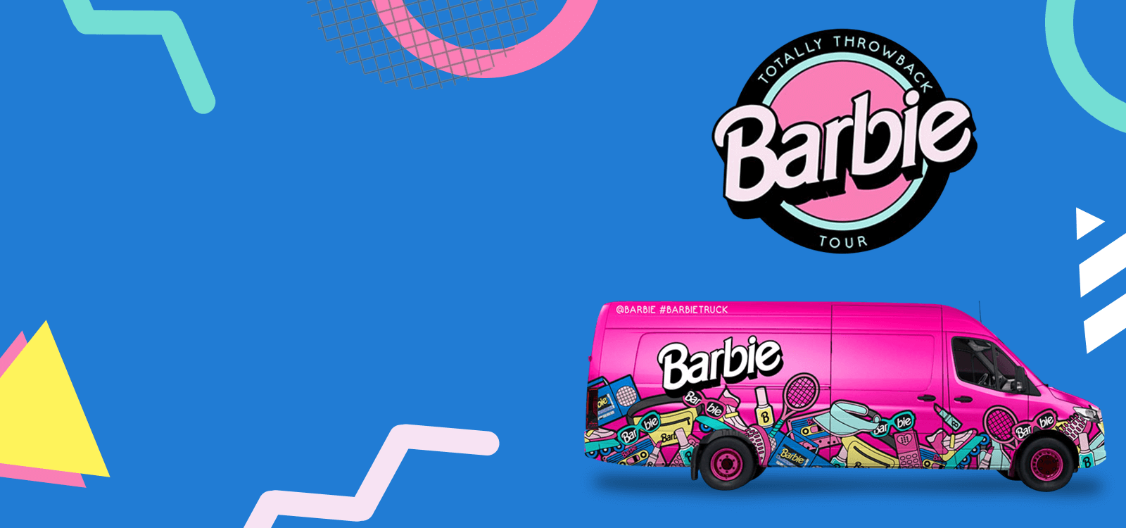 Barbie Truck Totally Throwback Tour