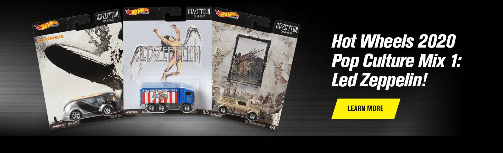 Hot Wheels 2020 Pop Culture Mix 1: Led Zeppelin!