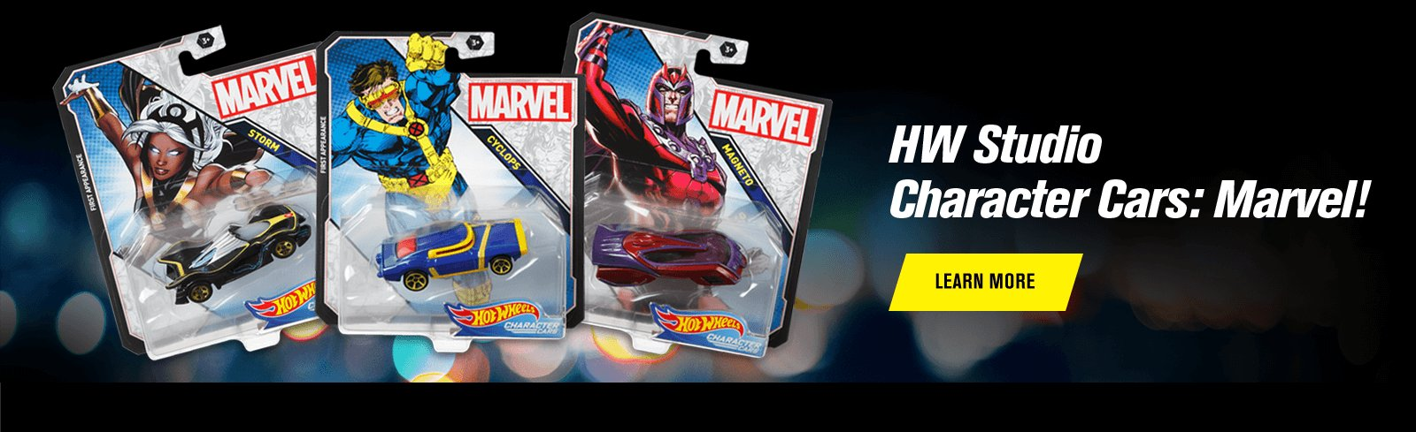 HW Studio Character Cars: Marvel!