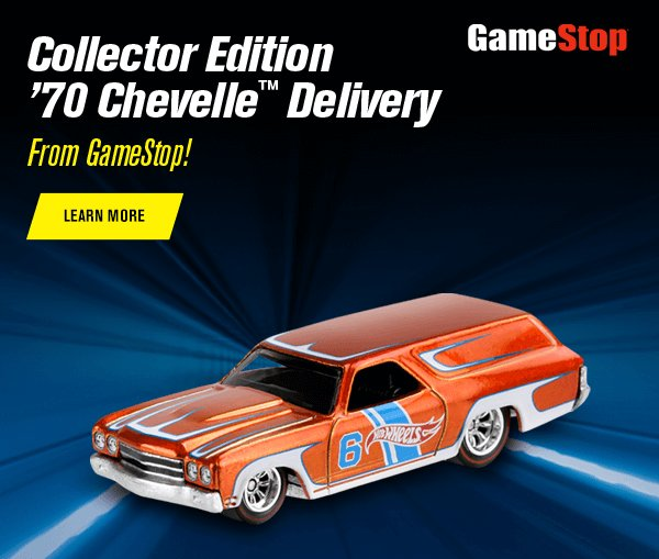 Collector Edition '70 Chevelle Delivery From GameStop