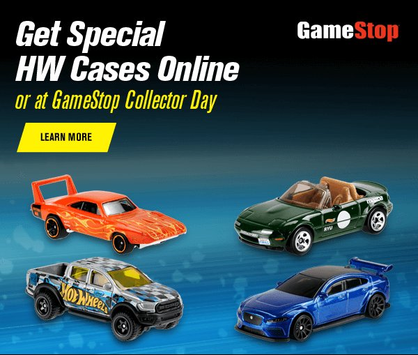 Special HW Cases Online or at GameStop Collector Day
