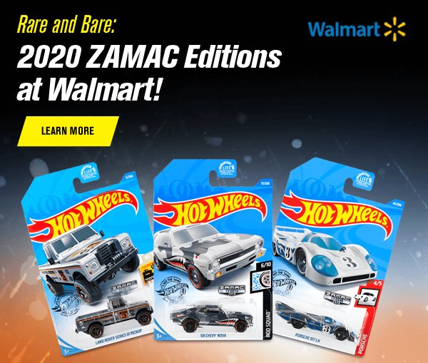 Rare and Bare: 2020 ZAMAC Editions at Walmart